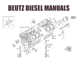 DEUTZ / MWM diesel engine spare parts
