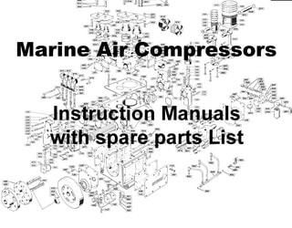 Marine Air compressors and spare parts