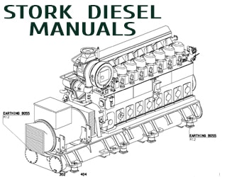 STORK diesel engine spare parts