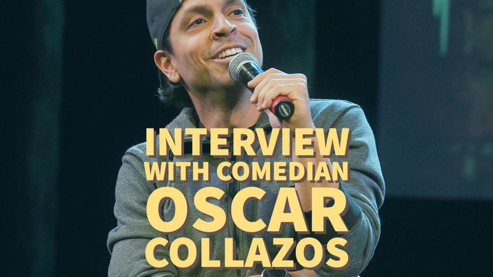 Comedian Oscar Collazos