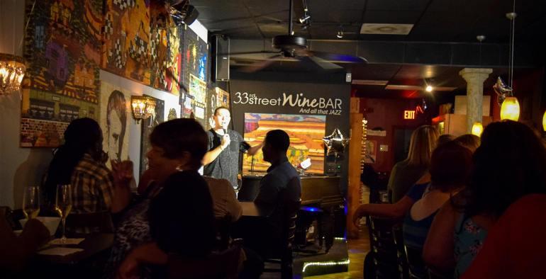 33rd street wine bar comedy night