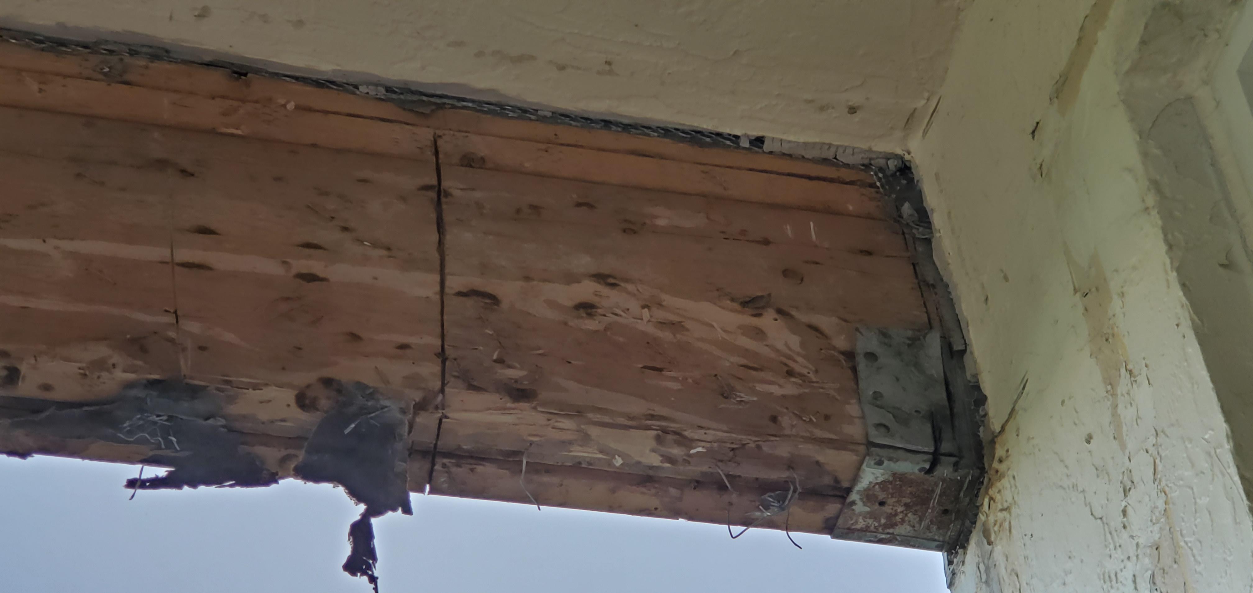 Girder Beam Columns Before Impact Windows Amp Doors