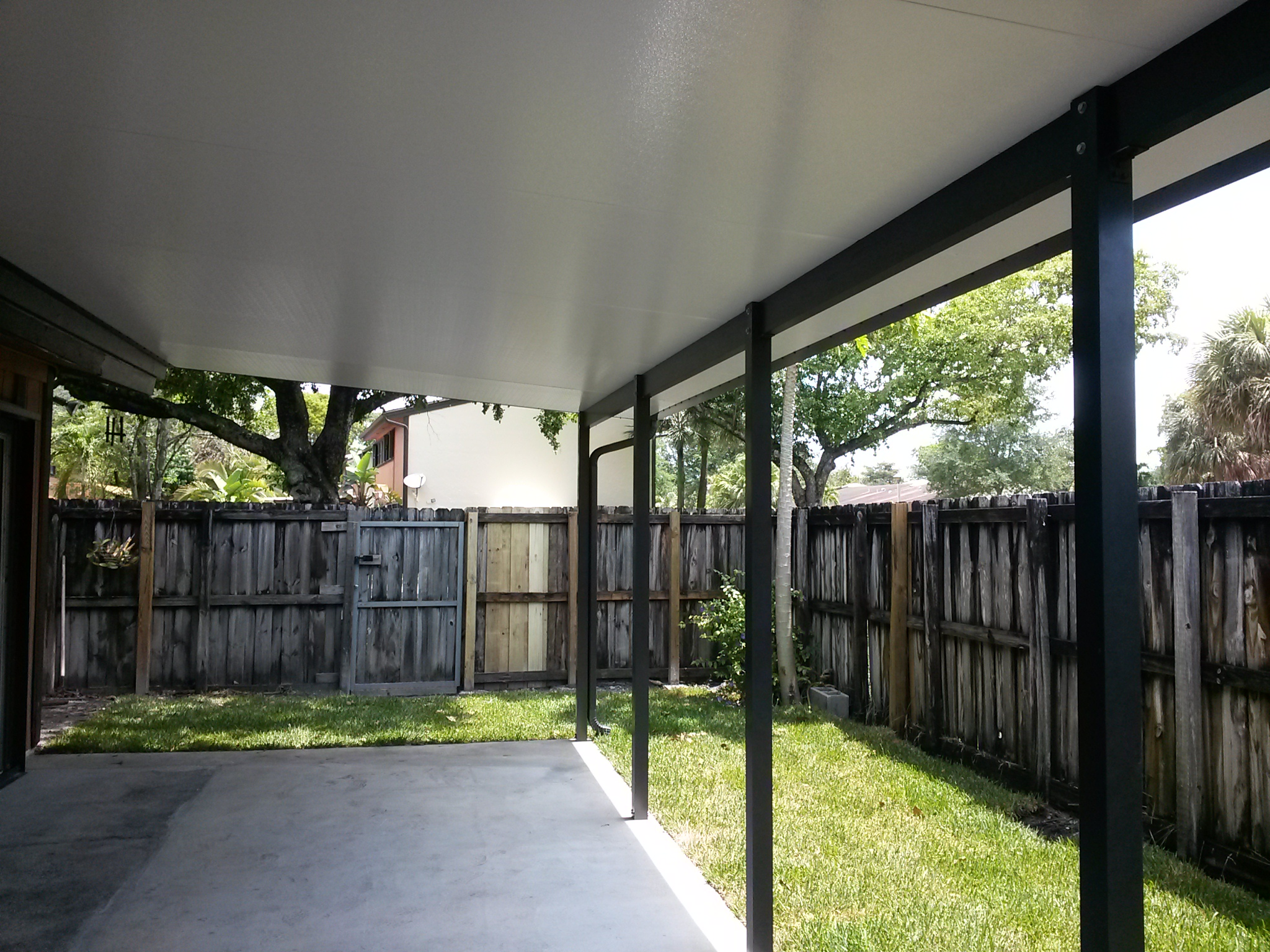 Insulated Roof And Columns Impact Windows Amp Doors