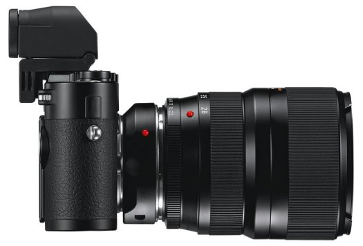 Leica M with EVF and R Series Adapter