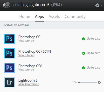 Adobe CC - LR5.6