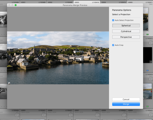 Lightroom Panoramic