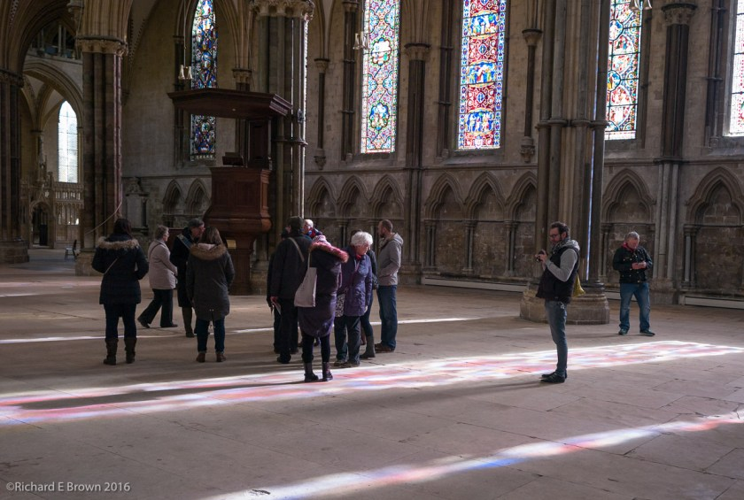 Cathedral Visitors and Photographers