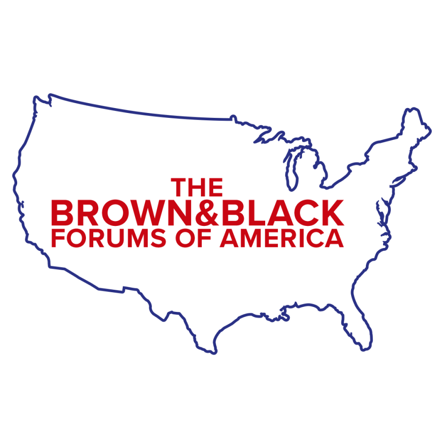 The Brown and Black forums of America logo