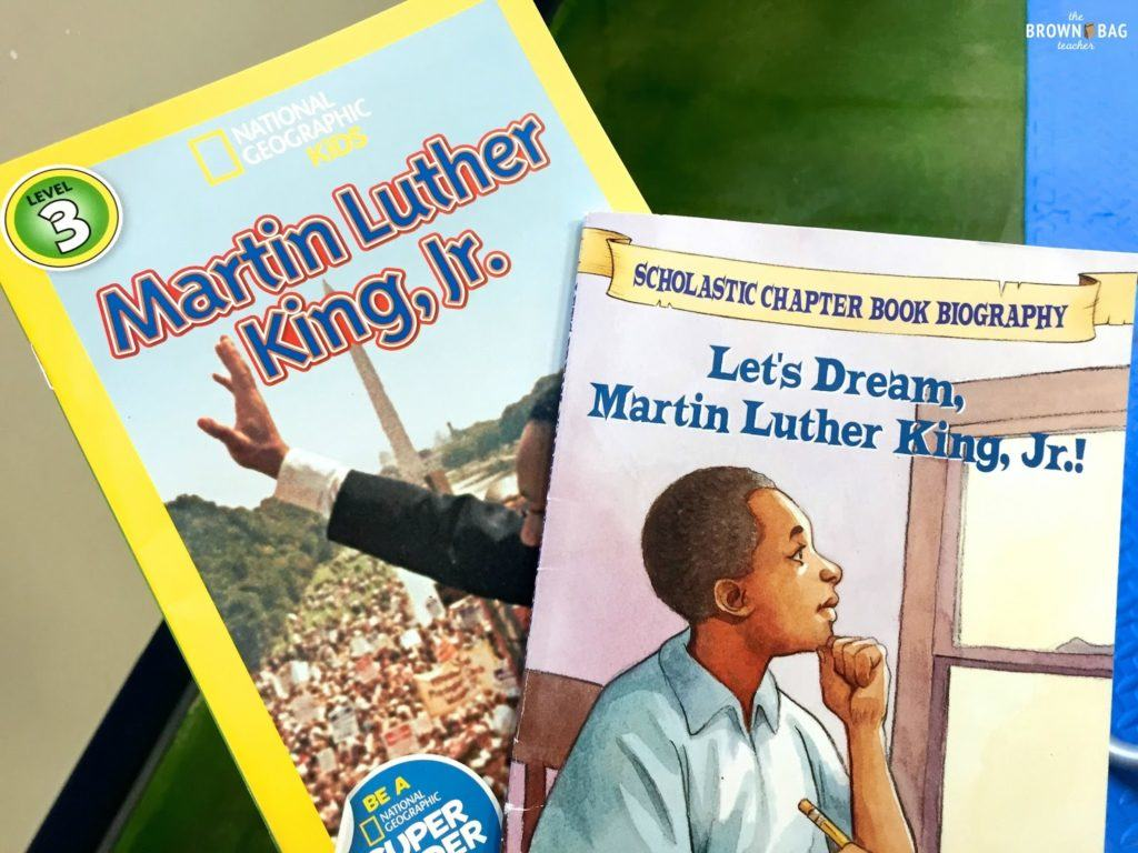 Martin Luther King In 1st Grade