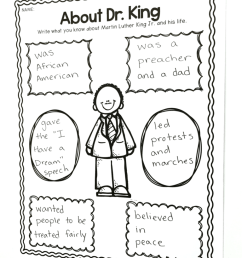 Martin Luther King in 1st Grade - The Brown Bag Teacher [ 1024 x 768 Pixel ]