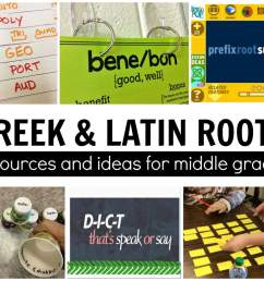 Greek and Latin Roots - The Brown Bag Teacher [ 1286 x 1600 Pixel ]