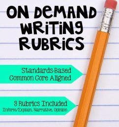 Reading Response Letters \u0026 On Demand Writing - The Brown Bag Teacher [ 1024 x 768 Pixel ]