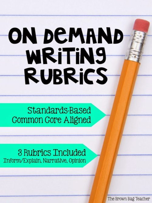 small resolution of Reading Response Letters \u0026 On Demand Writing - The Brown Bag Teacher