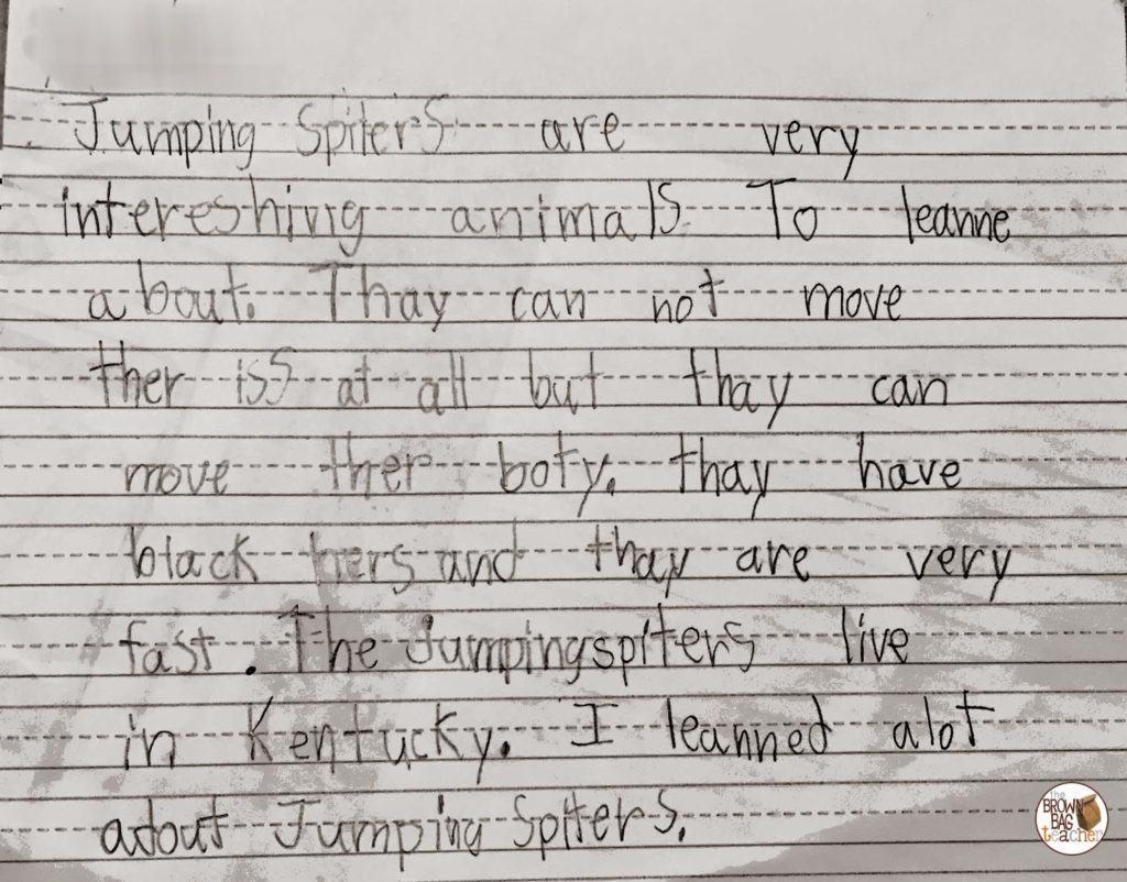 1st Grade Writing Pairing Writing Amp Reading