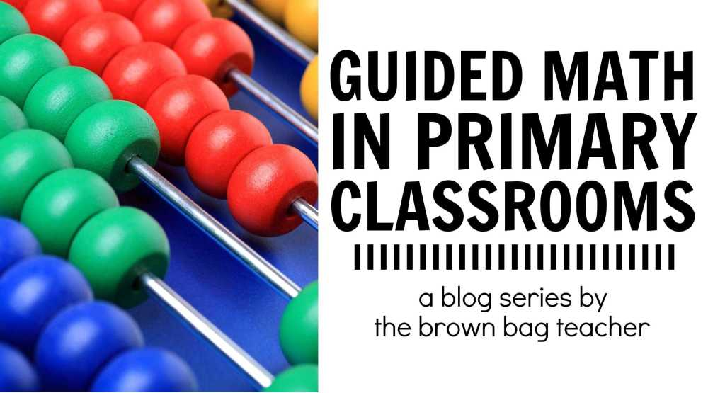 medium resolution of Guided Math in 1st Grade - The Brown Bag Teacher