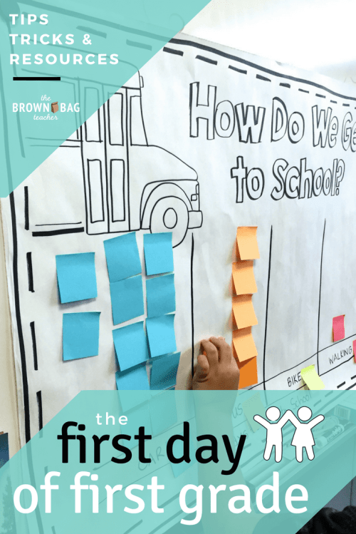 small resolution of The First Day of 1st Grade - The Brown Bag Teacher