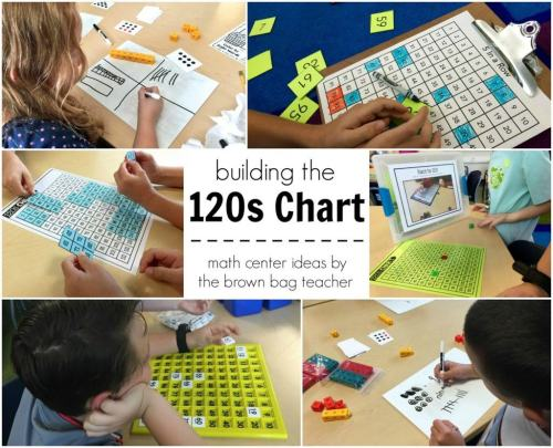small resolution of Place Value: 1st Grade Centers - The Brown Bag Teacher