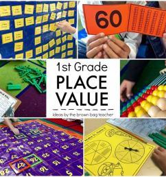 Place Value: 1st Grade Centers - The Brown Bag Teacher [ 826 x 1024 Pixel ]