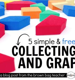 1st Grade Data \u0026 Graphing - The Brown Bag Teacher [ 889 x 1600 Pixel ]