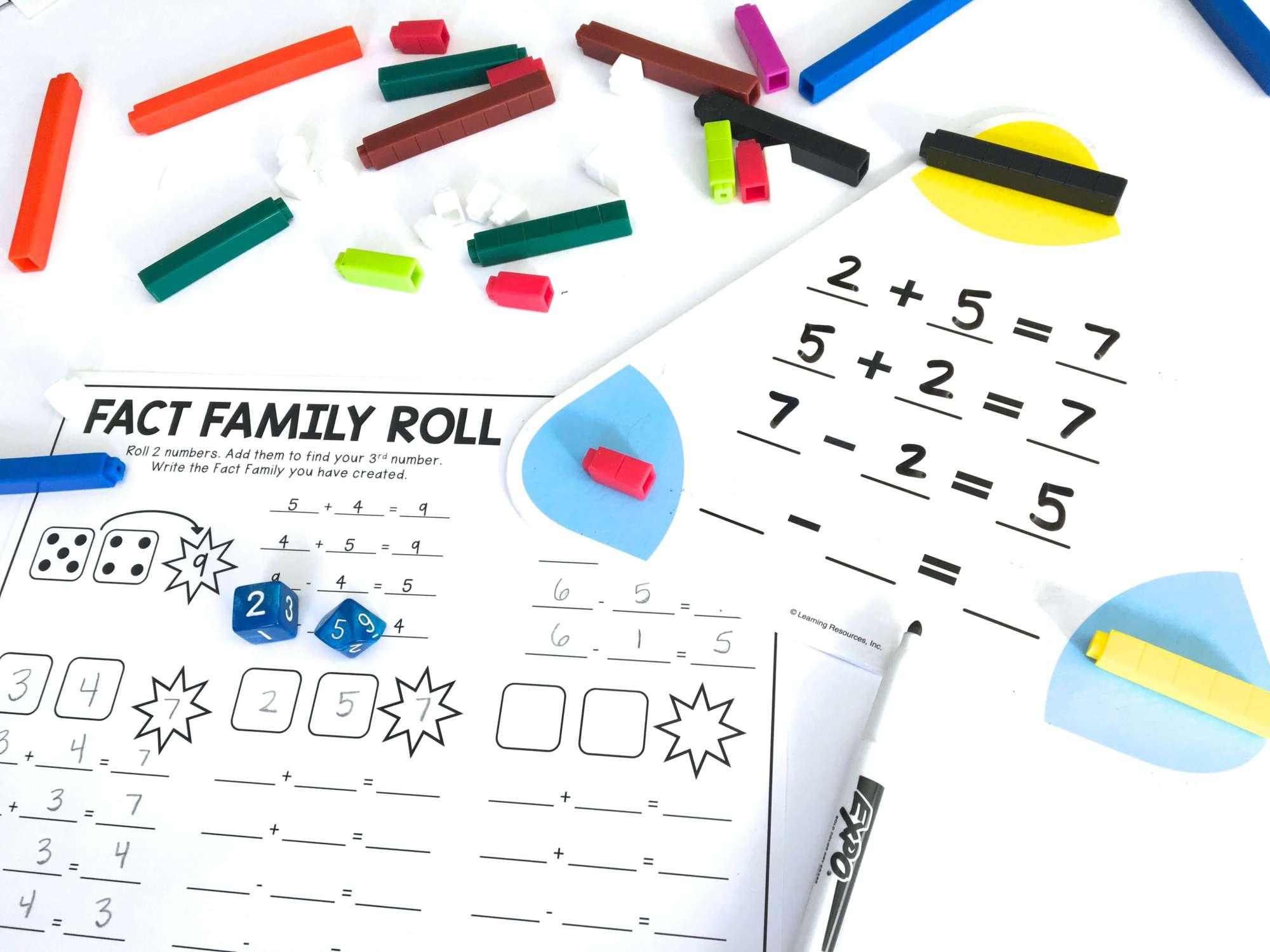 hight resolution of Managing Math Centers - The Brown Bag Teacher