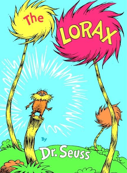 Dr Seuss lorax book