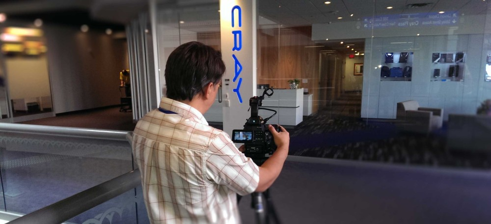 Brown & Company Shooting Blog videos for CRAY Super computers.