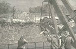 A 'Slaven' Dredge at Work at Buhio- View Sketched from on Board, June 16, 1888, 660
