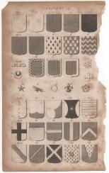 Heraldry, Portable Encyclopaedia, 1826 1