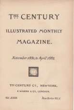 The Century, Vol. 23, 1881-2 (Title)
