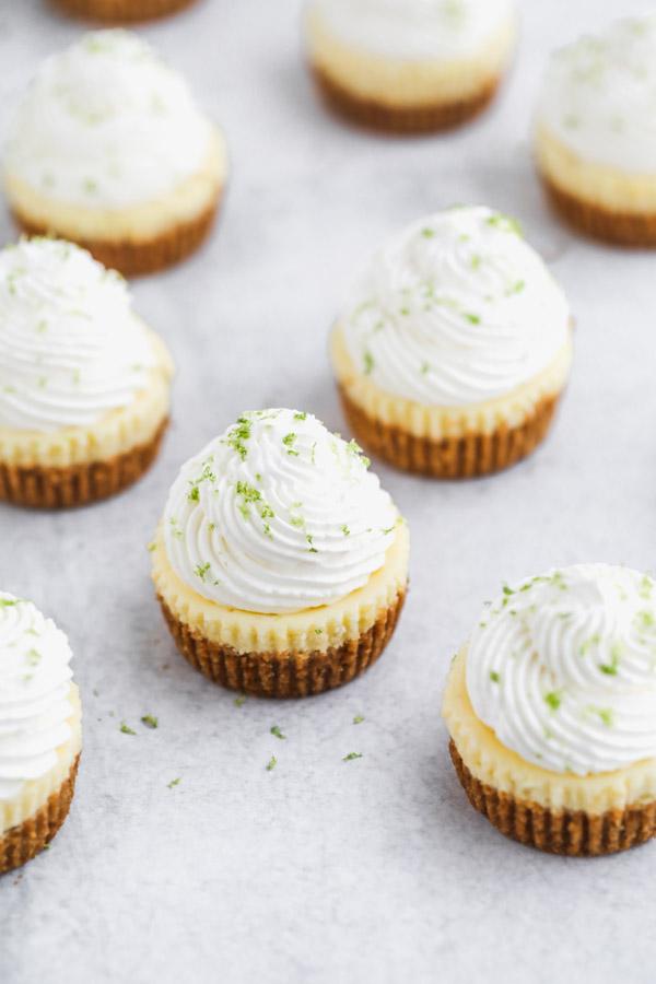 mini-key-lime-pie-cheesecakes