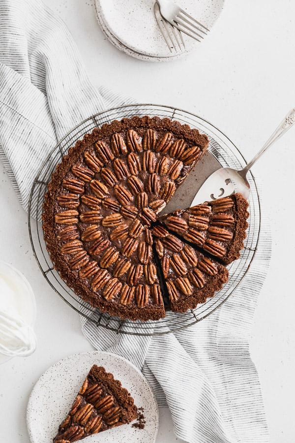 Browned-butter-chocolate-pecan-tart