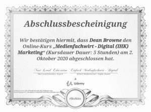 Medienfachwirt - Digital (IHK) Marketing