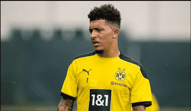 Borussia Dortmund reject Manchester United's opening bid of £67m for Jadon Sancho with the German club demanding £80m