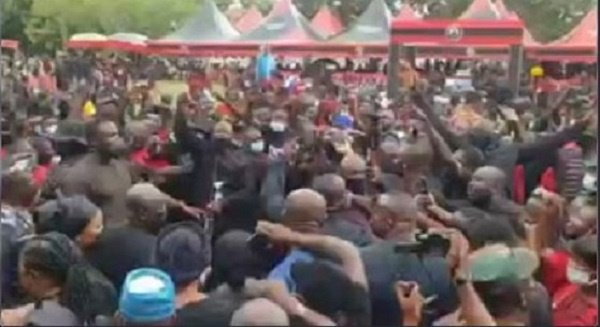 'Reckless disregard for COVID-19 protocols at Sir John's funeral disappointing' – Occupy Ghana