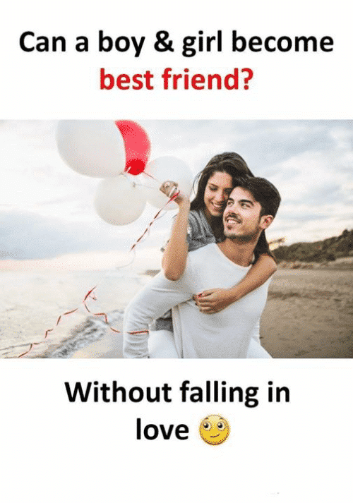 Can a boy and girl become best friends without falling in love?