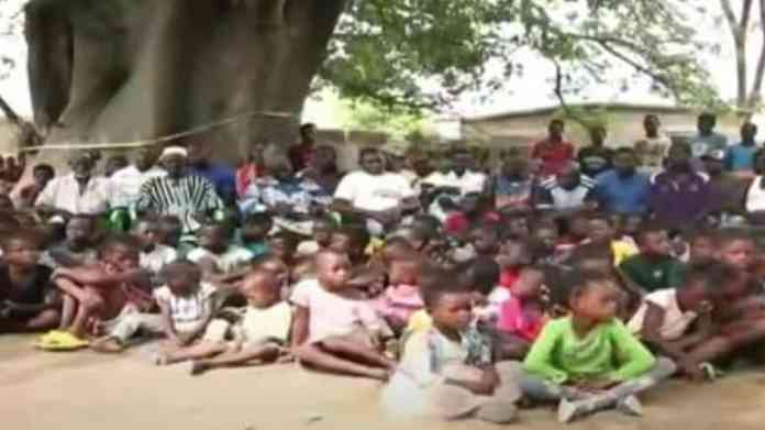 Meet the Ghanaian man with 47 wives and over 240 children(Video)