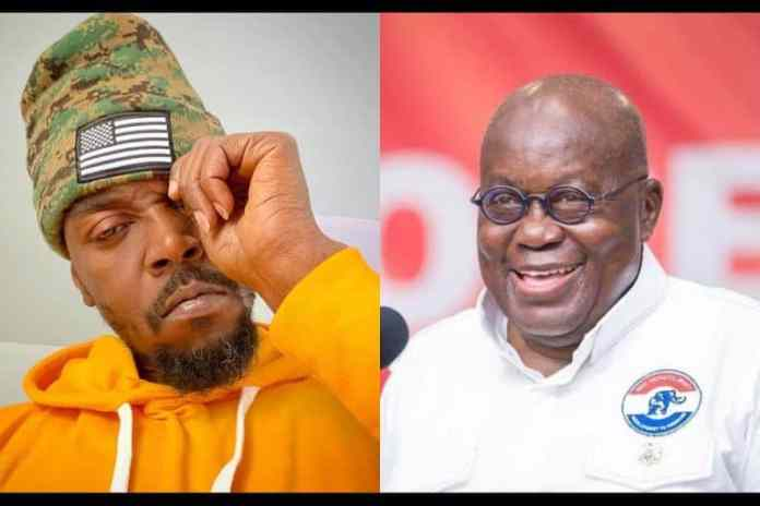 Everyone is complaining except NPP fans-Kwaw Kese's father's day message to Akufo-Addo causes stir (Video)