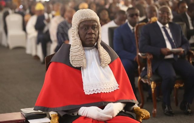 Chief Justice refers $5m bribery allegation against him to Police CID