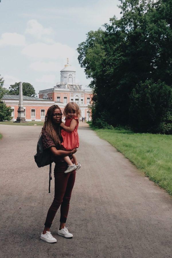 au pair : visite chateau