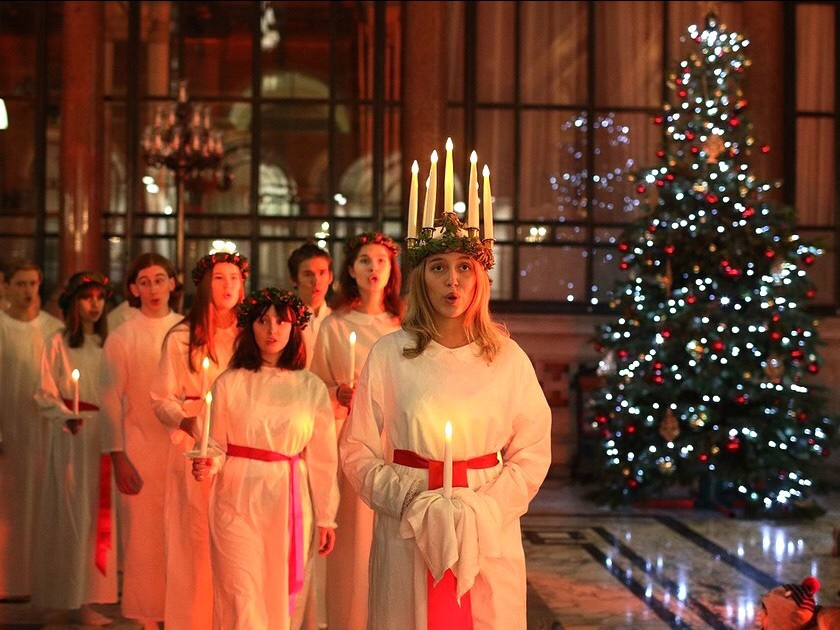 tradition noel : sainte lucie 1