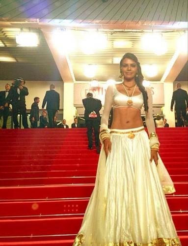 Sherlyn Chopra at the premiere of La Belleza Grande Source: Bollywood's Biggest Fan Club - BBFC