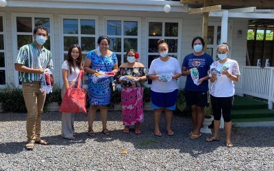 Samoa-based Beauty Salon JSPA Donates 100 Masks to Brown Girl Woke