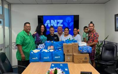 ANZ Samoa Donate to Brown Girl Woke