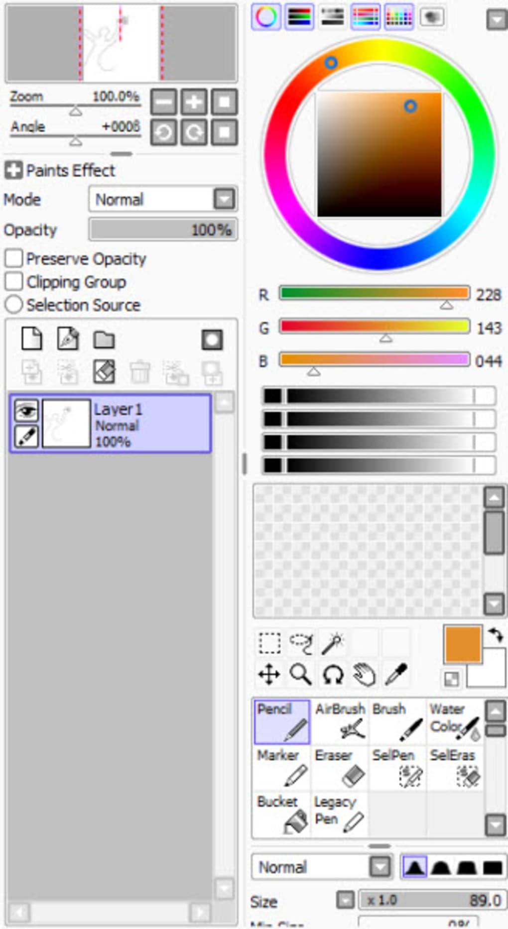 Paint Tool Sai 2 Free Download Full Version : paint, download, version, Download, Paint, Windows, Browngive
