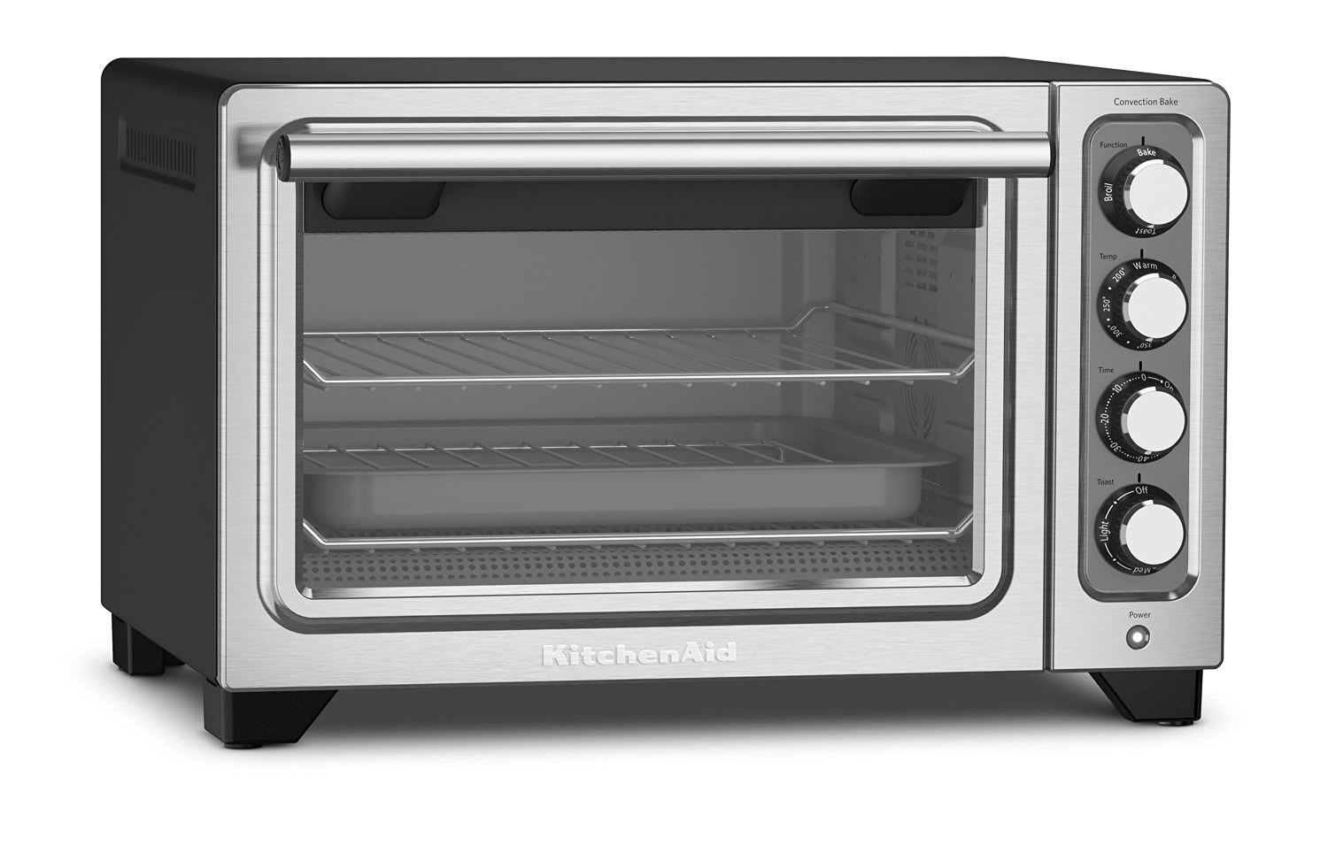 KitchenAid KCO253BM Compact Convection Countertop Oven