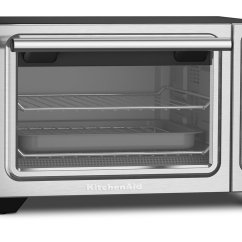 Kitchen Aid Toaster Oven Sink Spray Hose Kitchenaid Kco253bm Compact Convection Countertop