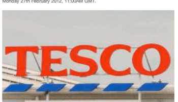b91e7877fd Tesco sends a message to Brownhills: you're not worth it ...