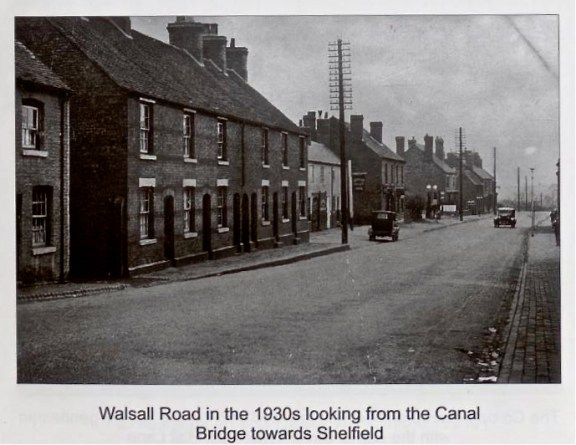 They used to make real telegraph poles in theses days: real rats-nests. But what lay beneath? From 'Memories of Old Walsall Wood' by Bill Mayo and John Sale.