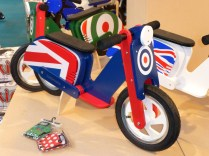 Balance bikes like this are a great way for little ones to learn to cycle. They teach balance, unlike stabilisers.