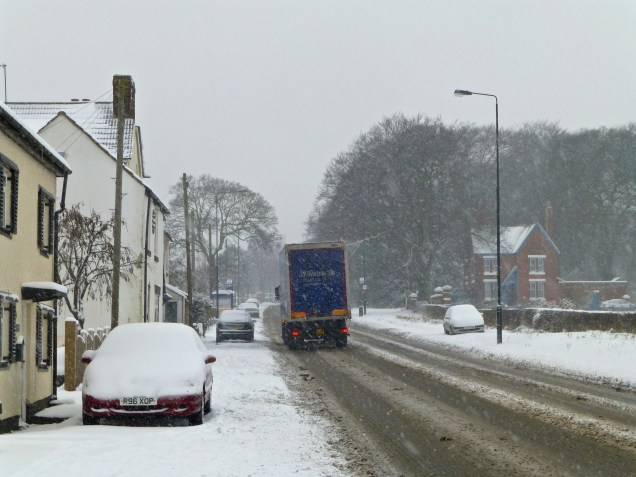 I was expecting Shire Oak Hill to be gridlocked, but it was surprisingly clear.